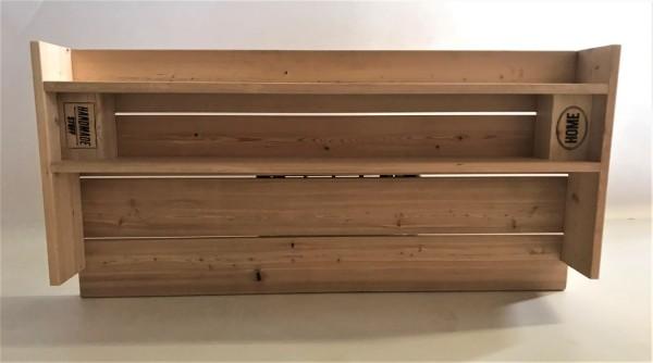 Grilltisch-Aufsatz oder Wandregal in Palettenoptik in Handarbeit hergestellt.